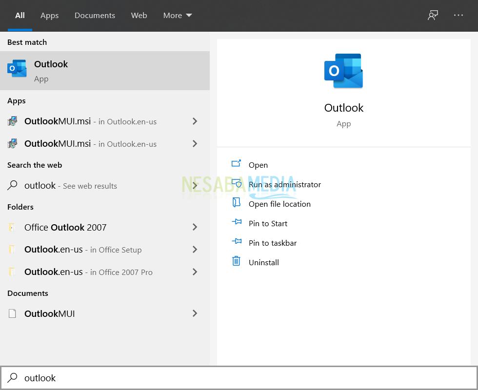 Cara Backup Email di Outlook 1