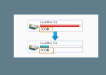 Cara Menambahkan Kapasitas Partisi C di Windows 10