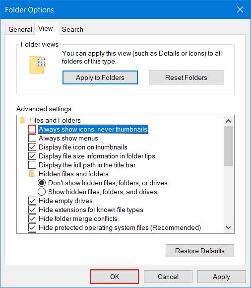 Menampilkan Gambar di Windows Explorer 4