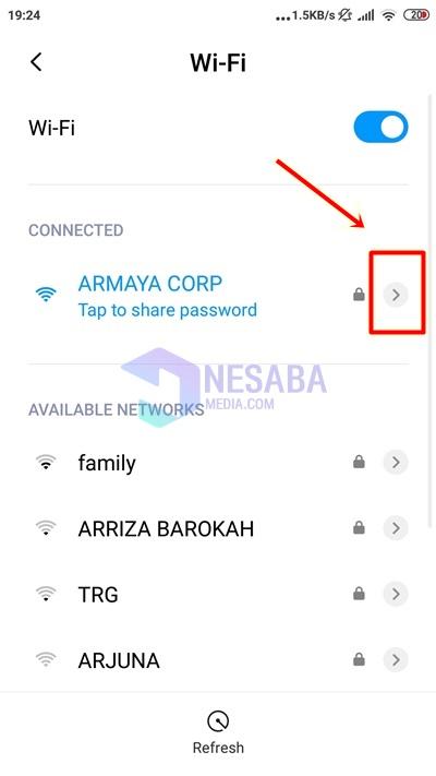 Cara Mengetahui Password WiFi di Android