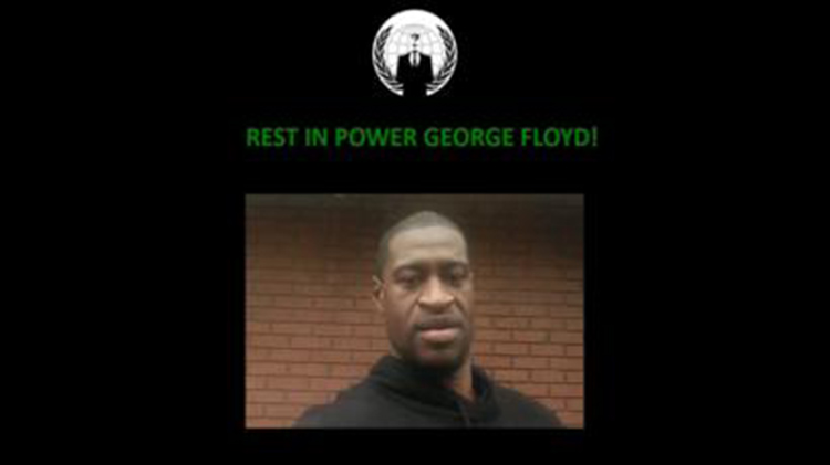Anonymous George Floyd