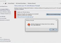Cara Mengatasi Windows Firewall Tidak Bisa Diaktifkan dan Dinonaktifkan