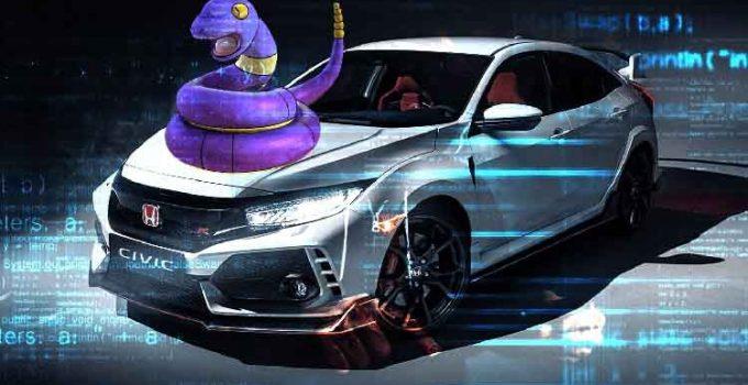 Virus Ransomware Honda