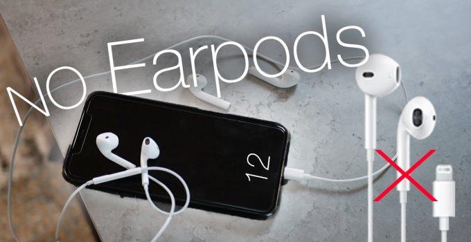 iPhone 12 tanpa earpods dan power adaptor
