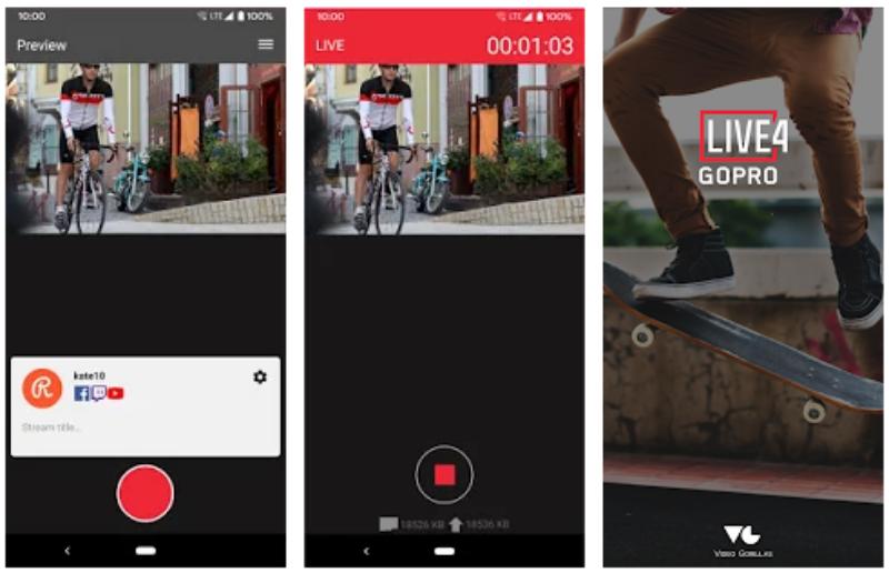 Aplikasi untuk GoPro Android Gratis