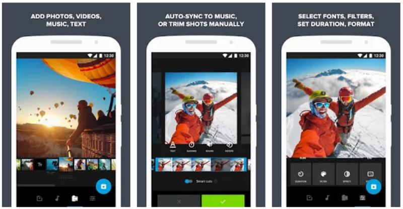 Quik - Aplikasi untuk GoPro Android