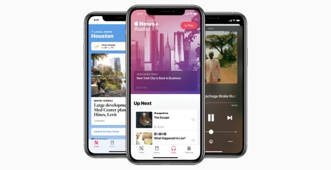 Apple News dan Apple News+ Fitur Audio