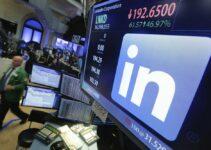 LinkedIn Logo Layoff NASDAQ Stock Exchange
