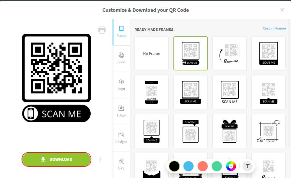 Membuat QR Code 6