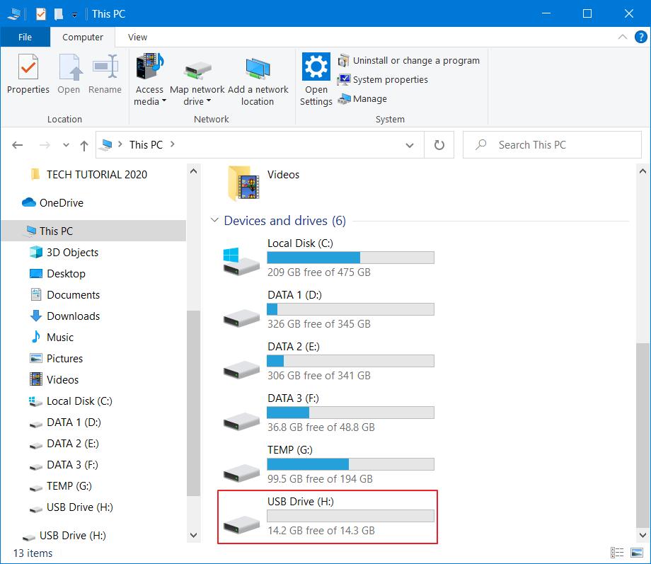 Mengatasi Flashdisk Minta Format 1