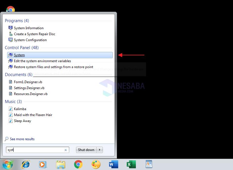 Mengatasi Windows 7 Not Genuine Layar Hitam 6