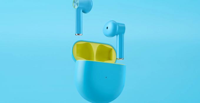 OnePlus Buds Warna Biru True Wireless Earphone
