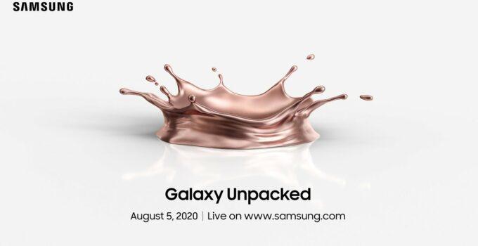 acara perilisan galaxy note 20 unpacked