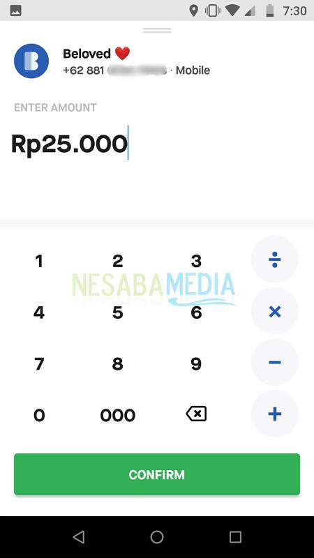 Transfer Saldo GoPay Nesabamedia 5