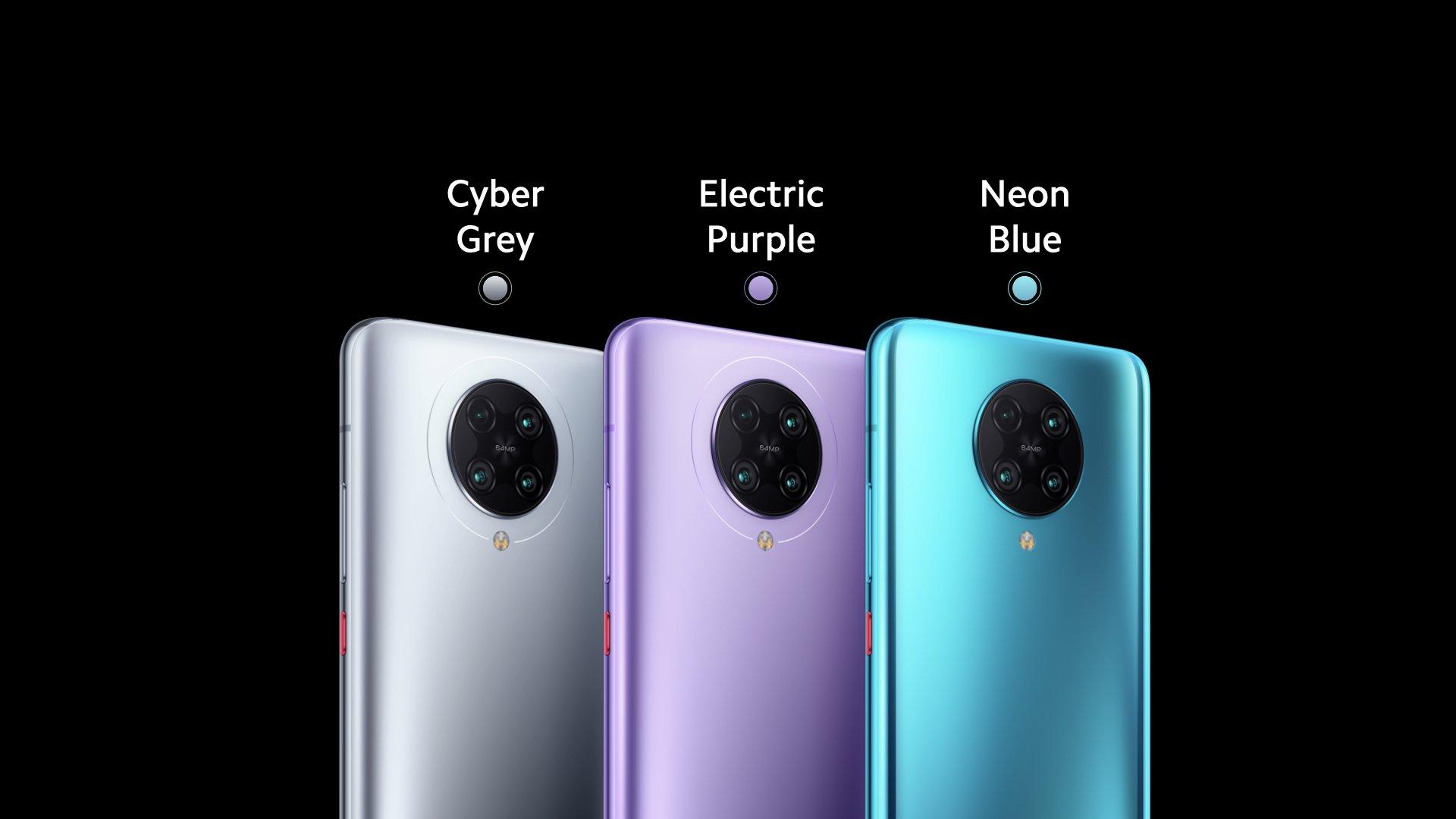 Pilihan warna Pocophone POCO F2 Pro