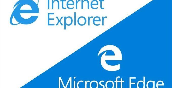 Internet Explorer and Microsoft Edge Browser