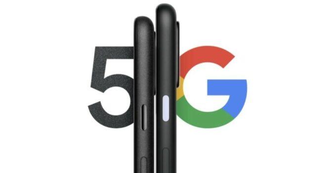 Render Google Pixel 5