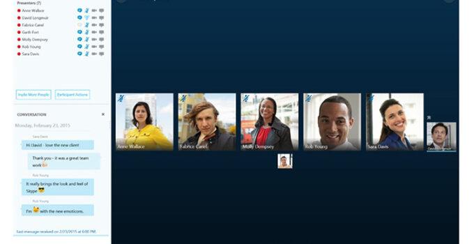Aplikasi Skype Windows Video Conference