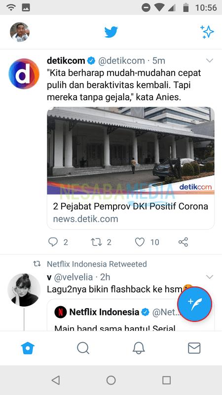 Cara Mention di Twitter - Nesabamedia 1