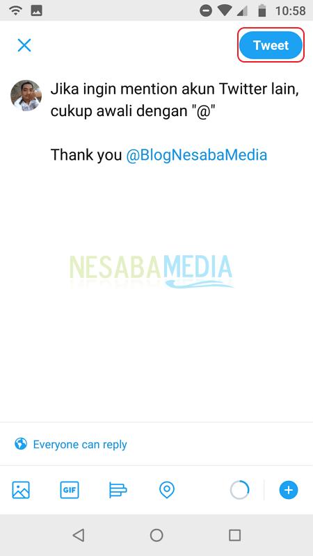 Mention di Twitter - Nesabamedia 2