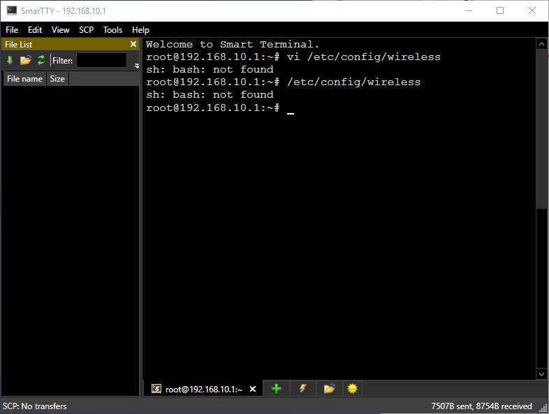 Aplikasi SSH Client di Laptop Windows