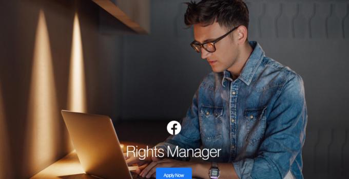 Facebook Rights Manager Pendeteksi Pencurian gambar dan foto