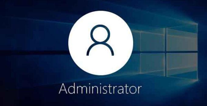 Akun Administrator Windows 10