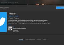 Aplikasi Twitter Untuk Windows 10
