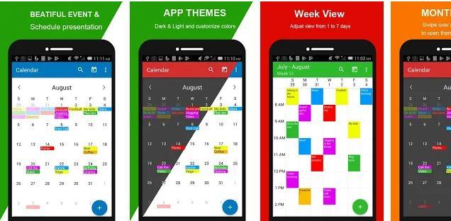 Calendar + Schedule Planner App