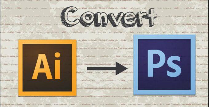 Cara Convert AI Ke PSD Secara Online dan Offline