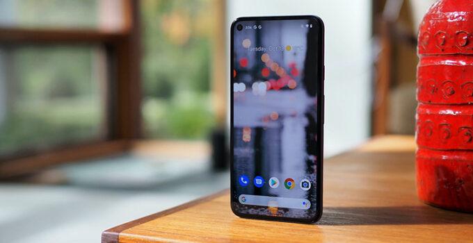 Google Pixel 5 Penampakan