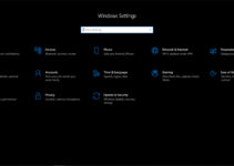 Halaman Settings Windows 10