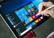 Menggunakan Windows 10 di Perangkat Tablet