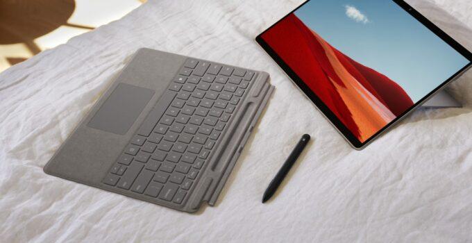 Microsoft Surface Pro X ARM Based Prosesor