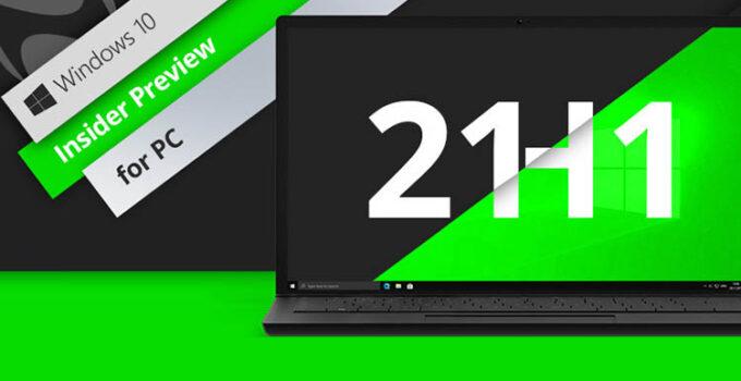 Pembaruan Windows 10 21H1