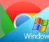 Browser Chrome di Windows 7
