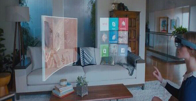 Microsoft Windows 10 Holographic HoloLens