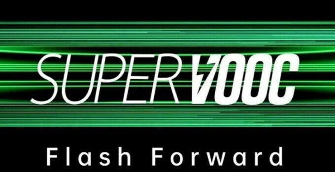 Oppo Fast Charging 125W Super VOOC