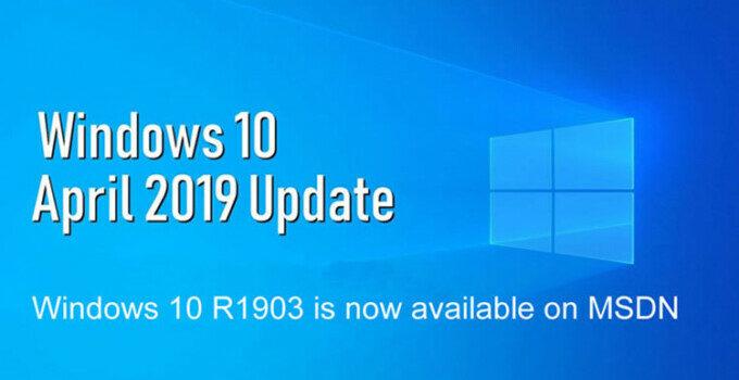 Pembaruan Windows 10 1903