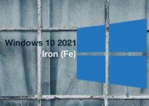 Pembaruan Windows 10 21H1 Iron Fe