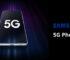 Smartphone Samsung 5G SM-G501B