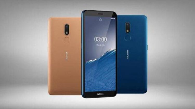 Tampilan Smartphone Nokia C3
