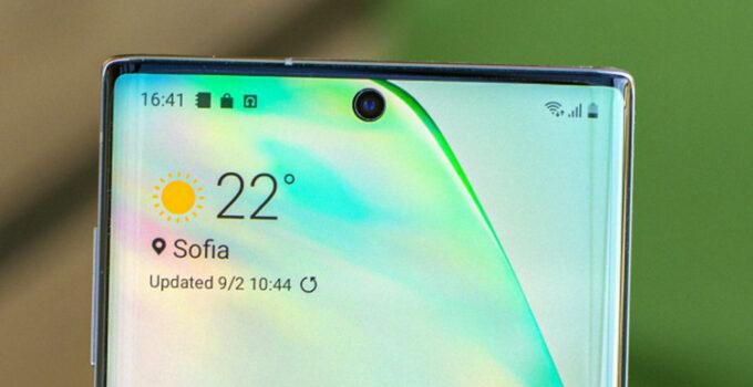 Teknologi Kamera Dalam Layar in Display Samsung