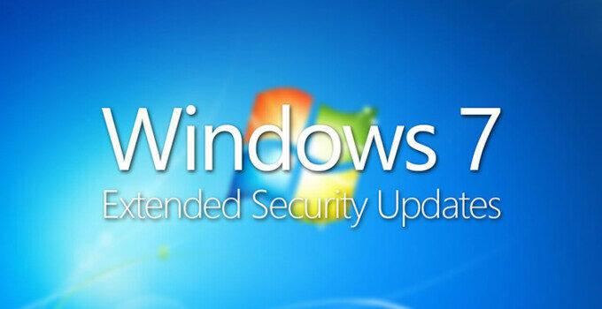 Windows 7 ESU Extended Security Updates