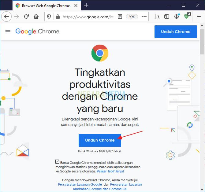 Cara Download Google Chrome di Laptop